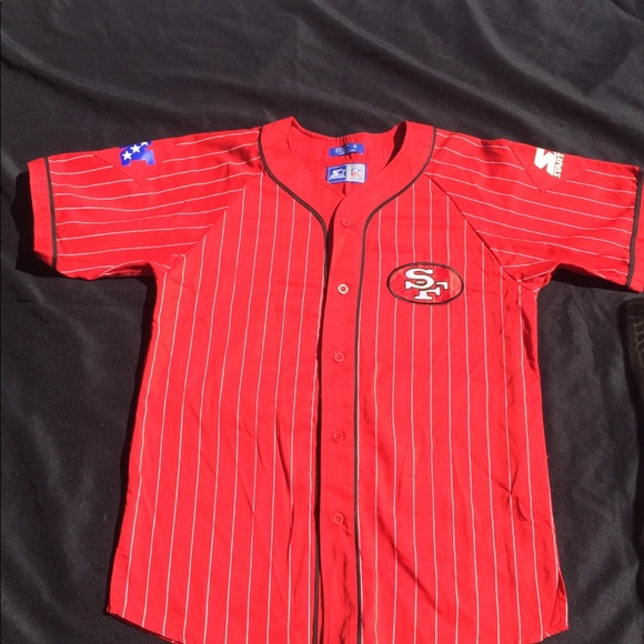 buy popular 99e0b 4659d Vintage san francisco 49ers starter jersey